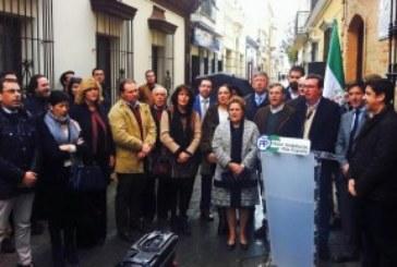 """El Partido Popular pide en Isla cristina """"un cambio de rumbo"""" en las políticas que se llevan a cambio en Andalucía"""