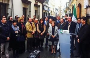 El Partido Popular pide en Isla cristina «un cambio de rumbo» en las políticas que se llevan a cambio en Andalucía