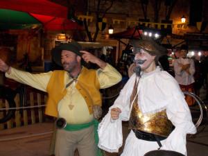 Mercado Quijotesco en Isla Cristina para conmemorar el cuarto centenario de la muerte de Cervantes
