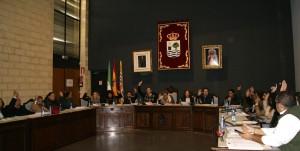 Nota de prensa pleno ordinario del mes de junio en Isla Cristina