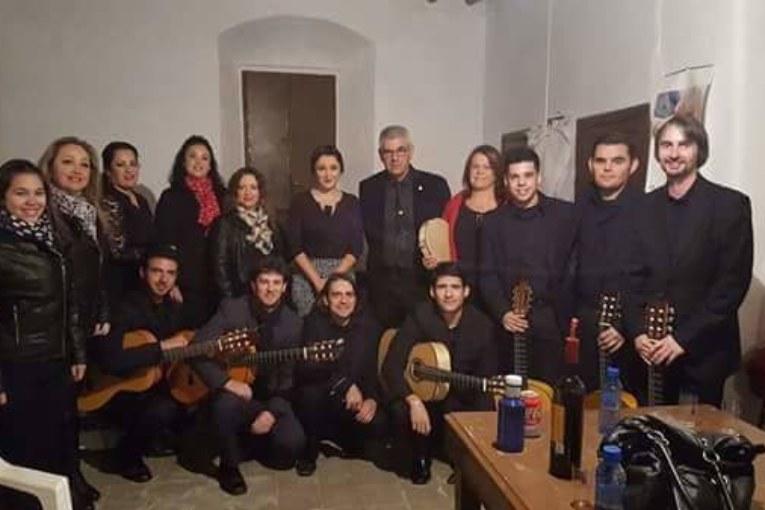 Espectáculo de la 'Cavaera Flamenca' en Isla Cristina
