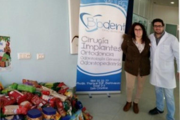 La clínica Bbdent colabora en la campaña de recogida de Alimentos en Isla Cristina
