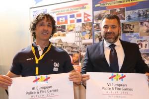 Huelva 2016 sella importantes acuerdos de colaboración en el Salón Internacional de la Seguridad, SICUR 2016