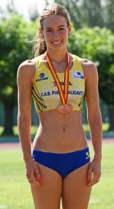 Laura García-Caro Campeona Promesa Nacional en 20 KM. Marcha en Ruta