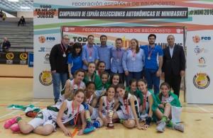 Plata y Bronce para Andalucía en los Campeonatos de España de Minibasket