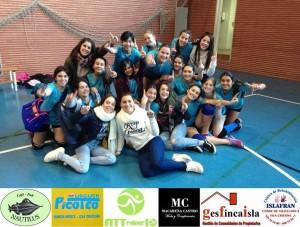 Las infantiles del C.D. Voleibol Isla Cristina Vic, Se Proclaman Primeras del G2 de la Zona Sur