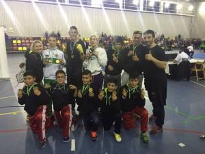 Lluvia de medallas para el Club Vip Gym-Isla Cristina en el Campeonato de Andalucía