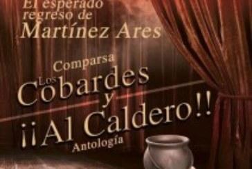 """Actuación en Isla Cristina de la Comparsa """"Los Cobardes y Al Caldero"""""""