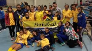 Oro Plata y Bronce para los Infantiles del C.A. Isla Cristina