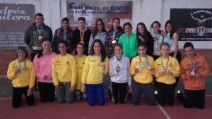 El Atletismo isleño a seguir con la buena racha en el Campeonato de Andalucía Sub 20