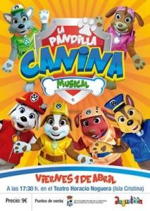 """Isla Cristina Acoge el Musical """"La Pandilla Canina"""""""