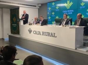 La Asamblea General de Socios de Caja Rural del Sur aprueba las cuentas el ejercicio 2015, con un incremento en el resultado del 22% con respecto año anterior