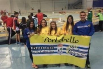 """Rosa Flores """"Campeona en Triple"""" del Andaluz Sub 20 de Atletismo en P.C. / Laura Flores """"Bronce"""" en Longitud"""