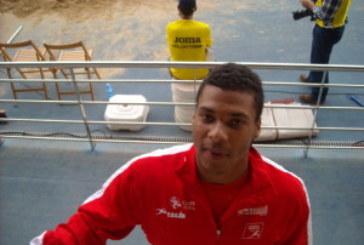 Héctor Santos oro en longitud y Alejandro Matantu plata en Triple en el Nacional Sub 23