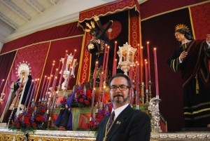 Antonio Martín, actual Hermano Mayor del Gran Poder
