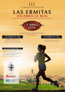 CARTEL CARRERA LAS ERMITAS 2016