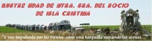 Acto Patio San Francisco de la Hermandad del Rocío de Isla Cristina