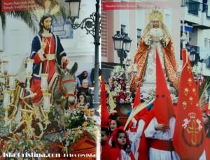Domingo de Ramos «Señor de la Mulita» Semana Santa Isla Cristina 2016
