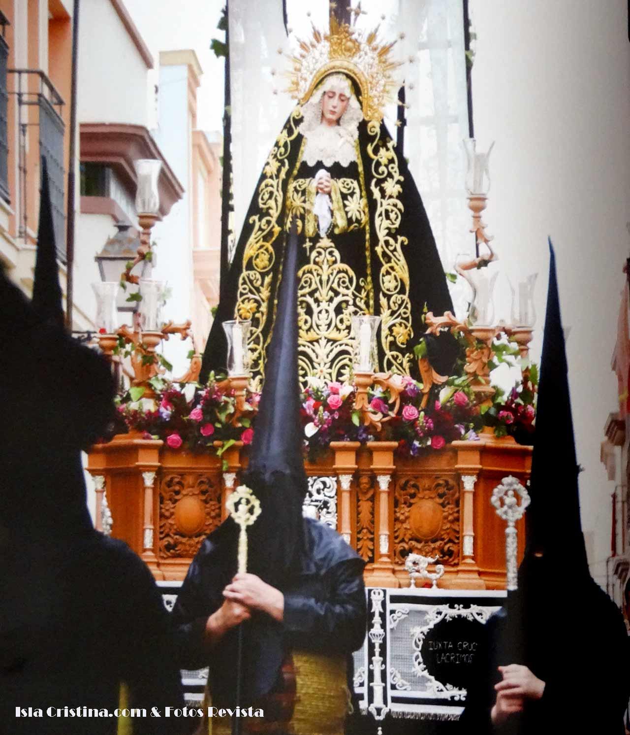 Horarios e Itinerarios Sábado Santo «La Soledad» Semana Santa de Isla Cristina 2018