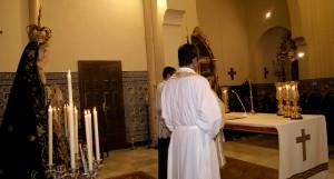 Celebrada en Isla Cristina la Función Principal en Honor a la Virgen de los Dolores