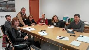 Ayuntamiento de Isla Cristina y Junta abordan el estado de las obras el saneamiento de las marismas