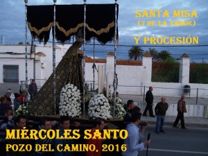 Horarios Semana Santa 2016 de Pozo del Camino