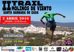 Santa Bárbara de Casa alberga el II Trail Molinos de Viento