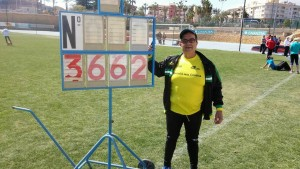 El Atleta Invidente Toni Palma con Minima al Nacional