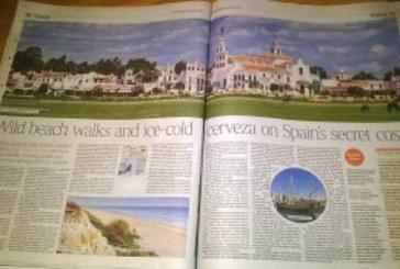 El diario británico The Times vuelve a recomendar Huelva como destino, la costa secreta de España
