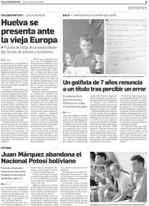 Yago Horno Mateo «Deportista con Honor»