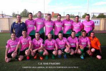 El Bar Paremio recibe este sábado al líder de la liga laboral de Huelva