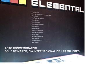 Inauguración de la Exposición «Elemental» en Isla Cristina