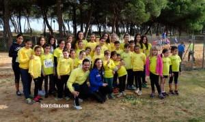 El atletismo isleño en el Campeonato de Andalucía Infantil de Atletismo