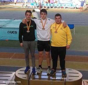 El Atleta Isleño Ricardo Orta «Bronce» en el XXIX Campeonato de España Cadete de Atletismo en P.C.