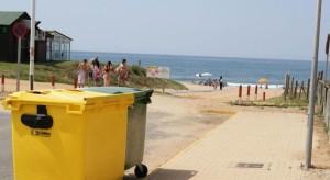 Giahsa refuerza su operativo de recogida de basuras en Isla Cristina