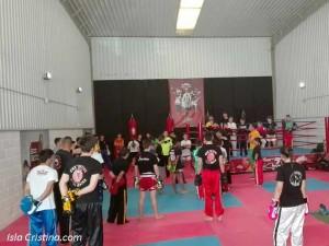 Jornada de concentración para los luchadores del Vipgym Isla Cristina