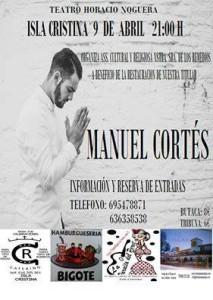 """Manuel Cortés, Presenta en Isla Cristina su nuevo Trabajo """"Mi Alma"""""""