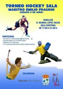 "Isla Cristina Alberga el Torneo Hockey Sala ""Maestro Emilio Fragoso"""