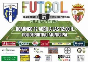 Isla Cristina – R. Portuense: un partido que marcará la temporada