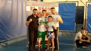 Éxito del Vip Gym en el Campeonato de Andalucía de Kick Light