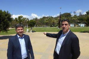 Visita oficial a las obras incluidas en el plan general de actuación y mejora urbanística de Islantilla