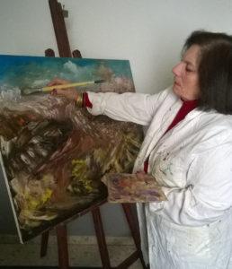 Carmen Redondo muestra su obra pictórica en Huelva desde este lunes en Fundación Caja Rural del Sur
