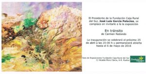 160424. invitacion a exposicion de Carmen Redondo (2)