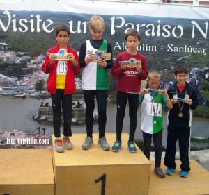 Andrés Guerrero (C.A. Isla Cristina) 2º en el 9º Grande Prémio de Atletismo de Alcoutím (Portugal)