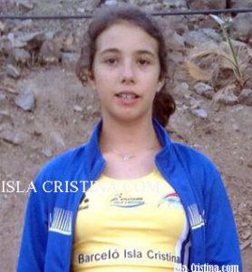 Ana Morcillo del C.A. Isla Cristina Participa en el Campeonato de Andalucía de Pruebas Combinadas