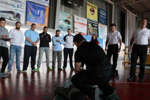 Testeada con éxito la prueba de Detenpolyb de los Juegos Europeos de Policías