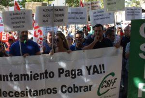 Los trabajadores municipales de Isla dicen que están «en la misma o peor situación que con el anterior Equipo de Gobierno»