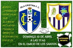 Partidos fin de semana de la Cantera Isleña en el Emilio de los Santos