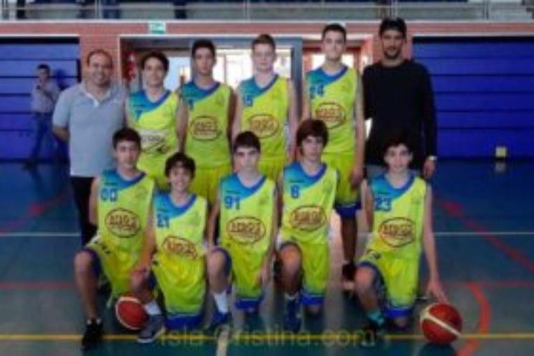 El Equipo Infantil Masculino del CB Isla Cristina jugara la FINAL FOUR
