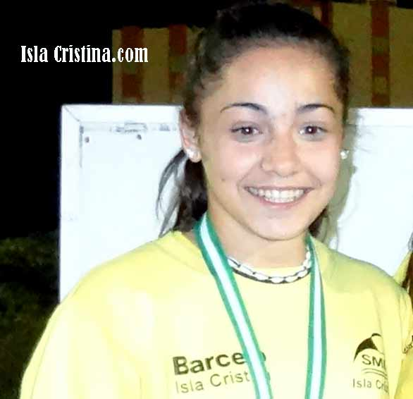 La atleta isleña Inés Sequera compite en el nacional
